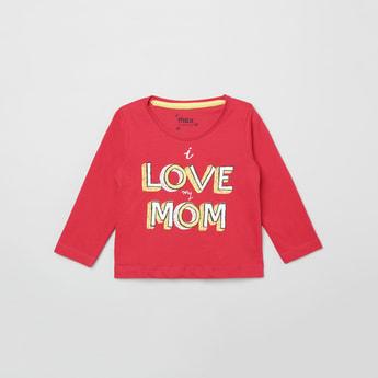 MAX Printed Full-Sleeves T-shirt