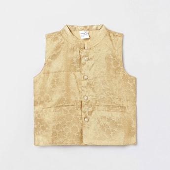 MAX Jacquard Patterned Nehru Jacket