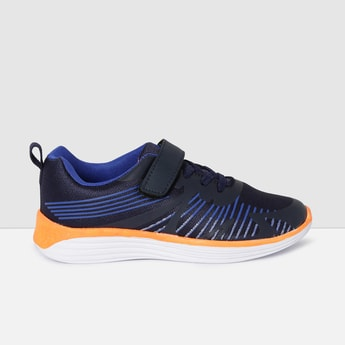 MAX Mesh Textured Velcro-Strap Casual Shoes