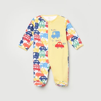 MAX Printed Full Sleeves Sleepsuit