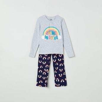 MAX Printed T-shirt and Pants