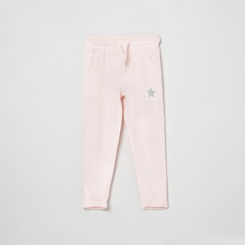 MAX Solid Elasticated Casual Track Pants