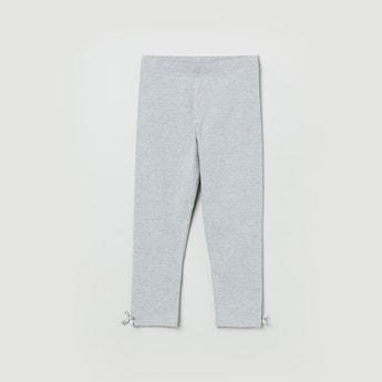 MAX Textured Elasticated Leggings