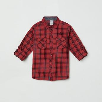 MAX Checked Full Sleeves Casual Shirt