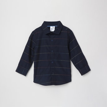 MAX Striped Full-Sleeves Shirt