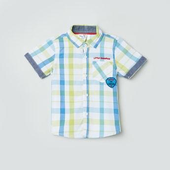 MAX Checked Half-Sleeves Shirt