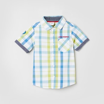 MAX Checked Short Sleeves Shirt
