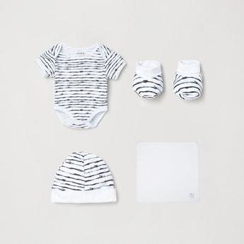 MAX Printed Romper Gift Set- Pack of 5