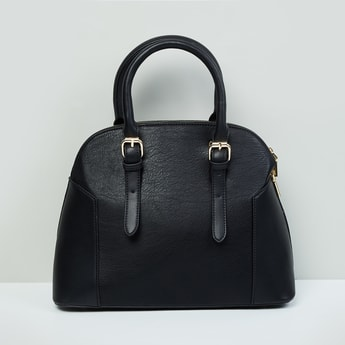 MAX Printed Zip-Closure Handbag