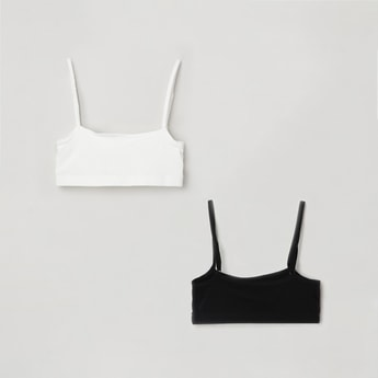 MAX Solid Camisole Bras- Set of 2 Pcs