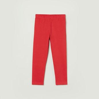 MAX Solid Knitted Full-Length Leggings