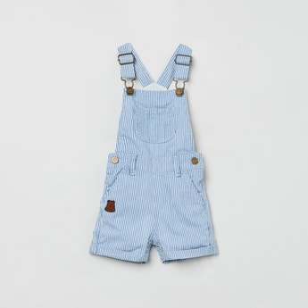 MAX Striped Dungaree