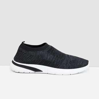 MAX Textured Sock-Knit Shoes