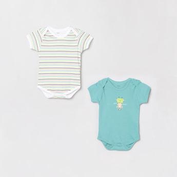 MAX Printed Boysuits- Set Of 2