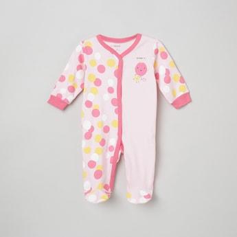 MAX Polka Dot Printed Sleepsuit