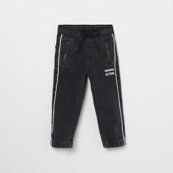 MAX Printed Slim Fit Jogger Jeans
