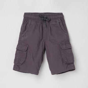 MAX Solid Elasticated Bermuda Shorts