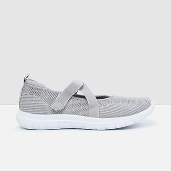 MAX Mesh Panel Detail Slip-On Shoes
