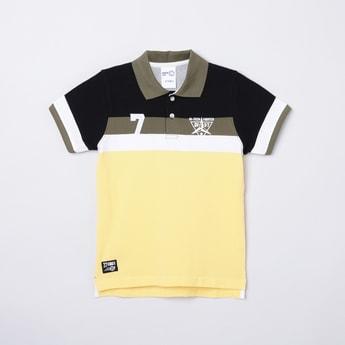 MAX Colourblocked Short Sleeves Polo T-shirt