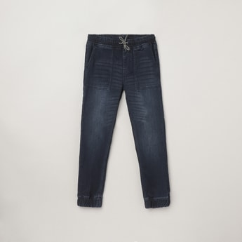 MAX Dark-Washed Slim Fit Jogger Jeans