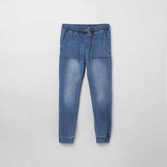 MAX Light-Washed Slim Fit Denim Jeans