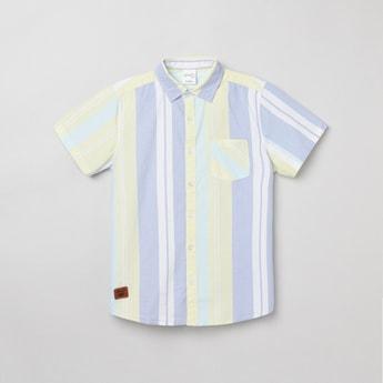 MAX Striped Half-Sleeve Shirt