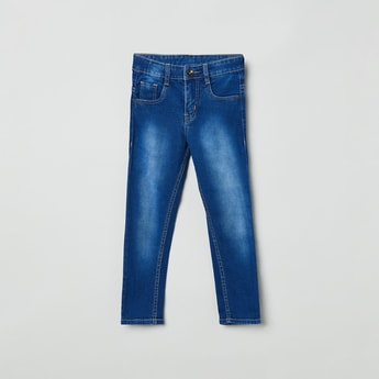 MAX Stonewashed Slim Fit Jeans