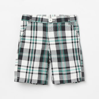MAX Printed Woven Bermuda Shorts