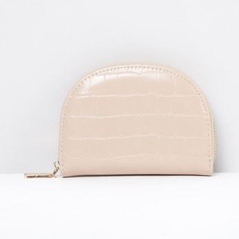 MAX Textured Zip-Around Wallet