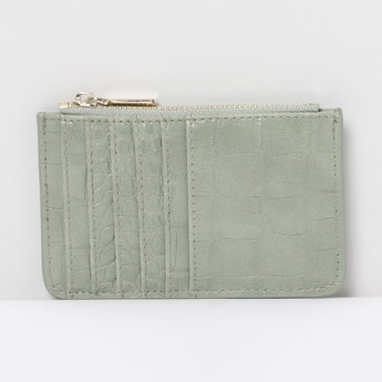 MAX Textured Card Holder Wallet