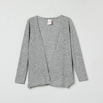 MAX Textured Open-Front Shrug