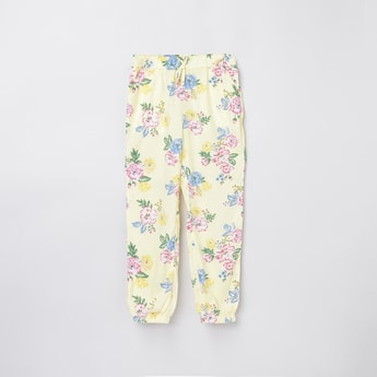 MAX Floral Printed Elasticated Pants