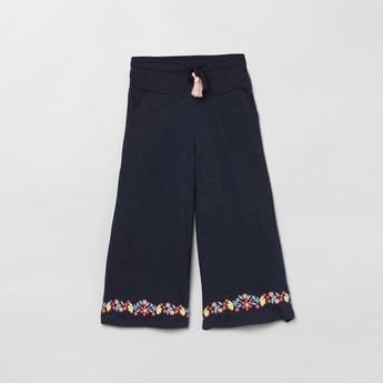 MAX Printed Elasticated Flared Pants