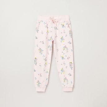 MAX Printed Elasticated Trousers