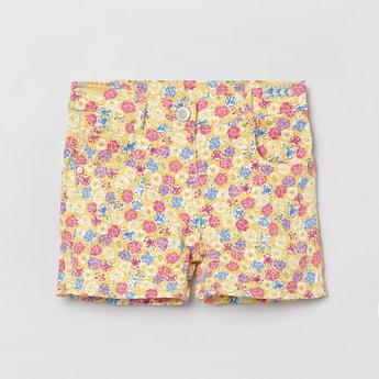 MAX Floral Print Woven Shorts