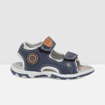 MAX Printed Velcro-Strap Sandals