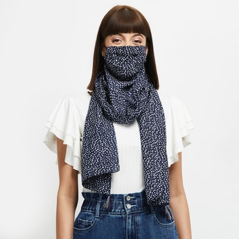 MAX Printed Scarf Face Mask