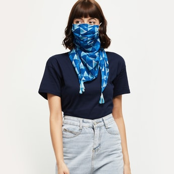 MAX Printed Scarf Mask