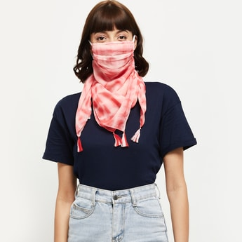 MAX Tie and Dye Scarf Face Mask