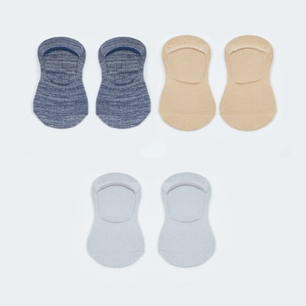 MAX Patterned Assorted Footlet - Pack of 3 Pairs