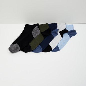 MAX Printed Ankle Length Socks - Set of 5