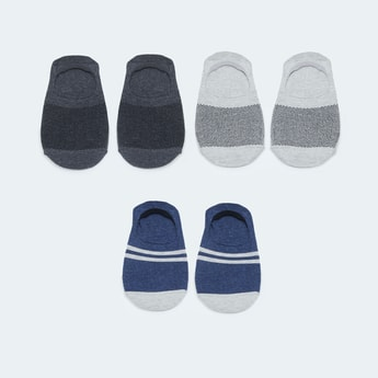 MAX Patterned Footlet - Pack of 3 Pairs