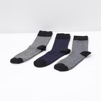 MAX Colourblocked Socks- Pack of 3