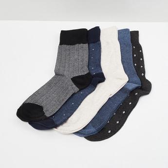 MAX Patterned Socks - Set of 5