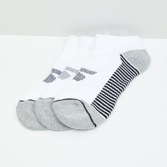 MAX Patterned Ankle-Length Socks - Set of 3