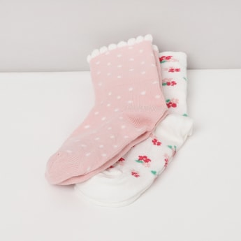 MAX Jacquard Pattern Socks - Pack of 2