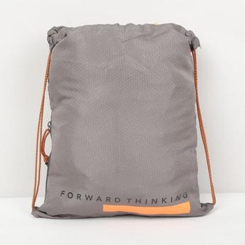 MAX Printed Drawstring Backpack