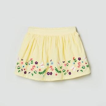 MAX Printed A-line Skirt