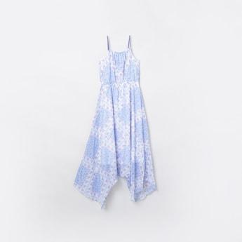 MAX Printed Asymmetrical Dress
