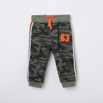 MAX Camouflage Print Full Length Track Pant
